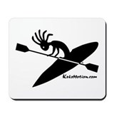 Kokopelli Kayaker Mousepad