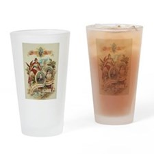 1888 National Democratic Convention Drinking Glass