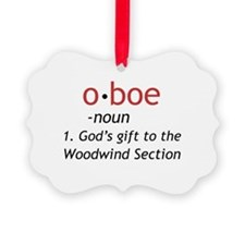 Oboe Definition Ornament