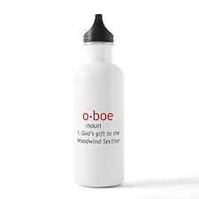 Oboe Definition Water Bottle