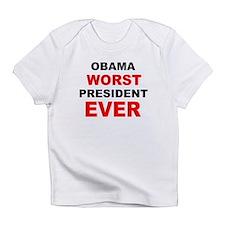 anti obama worst presdarkbumplL.png Infant T-Shirt