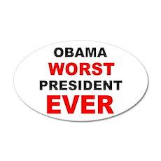 anti obama worst presdarkbumplL.png 35x21 Oval Wal
