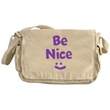 Be Nice Messenger Bag