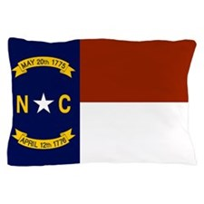 North Carolina United States Flag Pillow Case