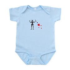 Blackbeard Flag Infant Bodysuit