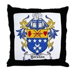 Yorston Coat of Arms Throw Pillow