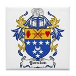 Yorston Coat of Arms Tile Coaster
