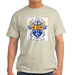 Yorston Coat of Arms Ash Grey T-Shirt
