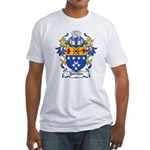 Yorston Coat of Arms Fitted T-Shirt