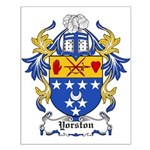 Yorston Coat of Arms Small Poster