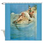 Mermaid Art Shower Curtain