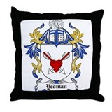 Yeoman Coat of Arms Throw Pillow