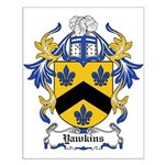 Yawkins Coat of Arms Small Poster