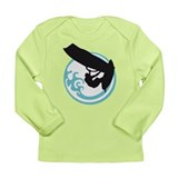 windsurfer surfer star surfing Long Sleeve Infant