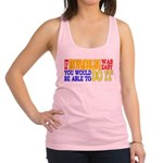 Easy Snowmobiling Racerback Tank Top