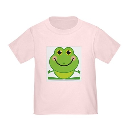 Simple Frog: Toddler T-Shirt