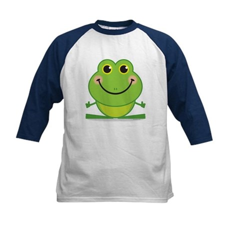 Simple Frog: Kids Baseball Jersey