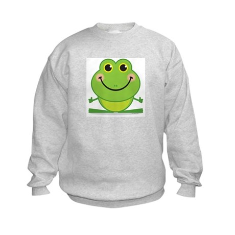 Simple Frog: Kids Sweatshirt