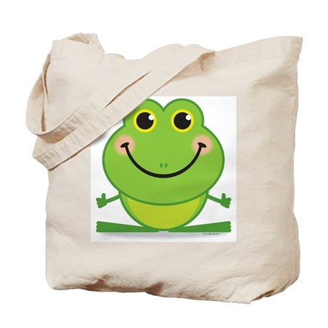 Simple Frog: Tote Bag