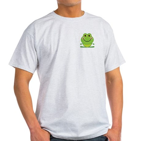 Simple Frog: Ash Grey T-Shirt