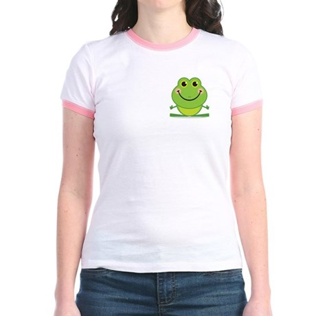 Simple Frog: Jr. Ringer T-Shirt