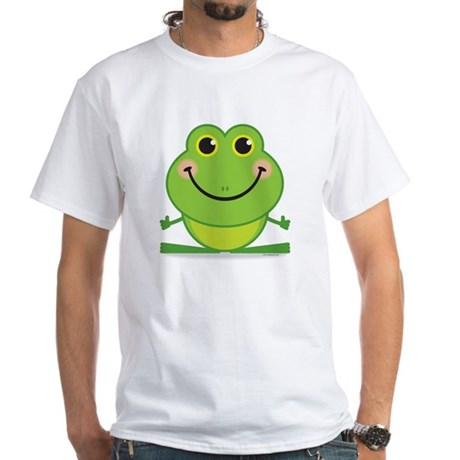 Simple Frog: White T-Shirt