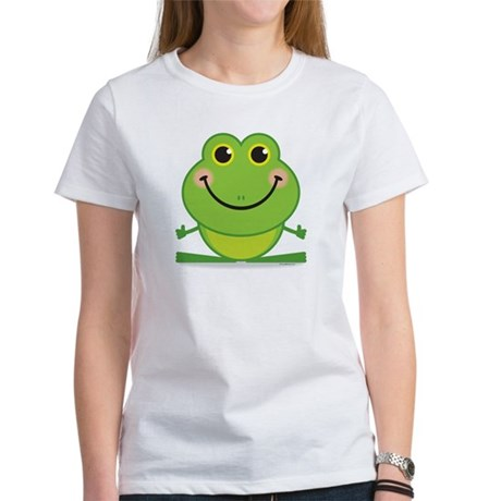Simple Frog: Women's T-Shirt