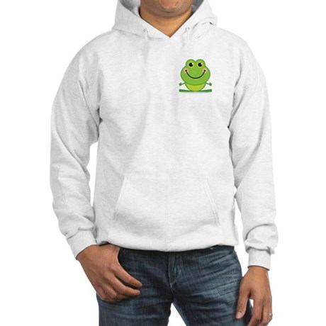 Simple Frog: Hooded Sweatshirt