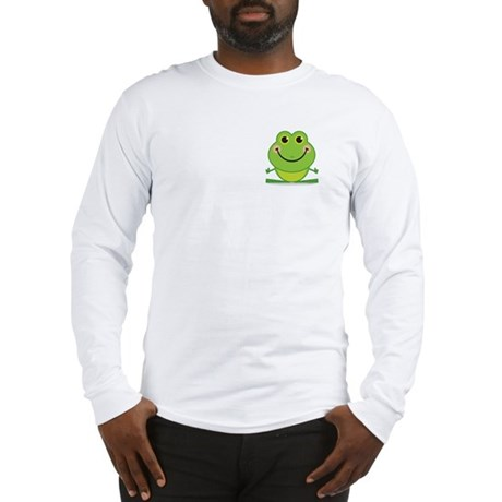 Simple Frog: Long Sleeve T-Shirt