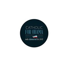 Catholic For Obama Mini Button (100 pack)