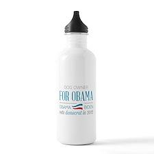 Dog Owner For Obama Water Bottle
