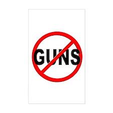 Anti / No Guns Decal
