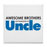 Unique Brother Tile Coaster