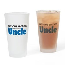 Unique Uncle Drinking Glass
