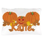 Halloween Pumpkin Katie Pillow Case
