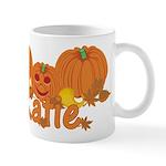 Halloween Pumpkin Katie Mug
