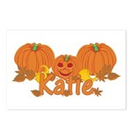 Halloween Pumpkin Katie Postcards (Package of 8)