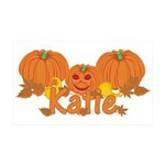 Halloween Pumpkin Katie 35x21 Wall Decal