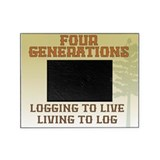 Four Generations Logging Photo Frame