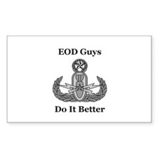 EOD Guys Do It Better Decal