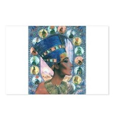 Queen of Egypt Nefertiti Postcards (Package of 8)