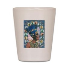 Queen of Egypt Nefertiti Shot Glass