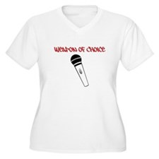 MC Weapon of Choice Microphone T-Shirt