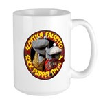 Large Mug with Socks logo
