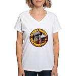 Socks logo Chunky Women's V-Neck T-Shirt