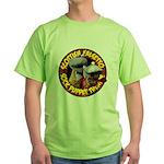 Socks logo Chunky Green T-Shirt