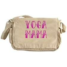 Yoga Mama Tattoo Messenger Bag