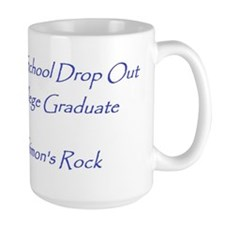 High School Drop Out, College Grad Mug