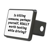 Texting while driving - Hitch Cover