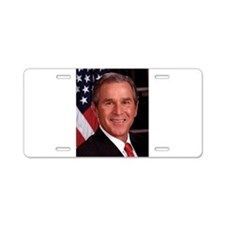 George W. Bush Aluminum License Plate